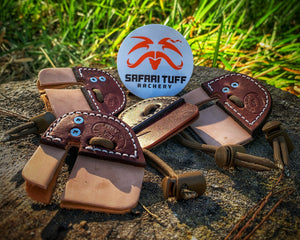 Safari Tuff Archery - Rod Jenkins Split Finger Tab