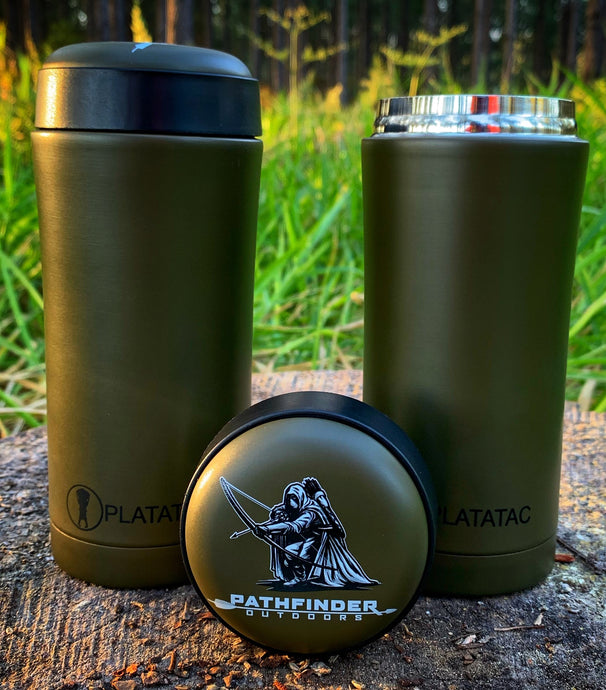 Brew Flask Pathfinder Outdoors Logo