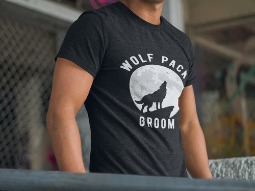 Bachelor Party Shirts | Wolf Pack Shirts | Groomsmen Shirts