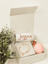 Load image into Gallery viewer, Rose Gold Bridesmaid Proposal Box Set