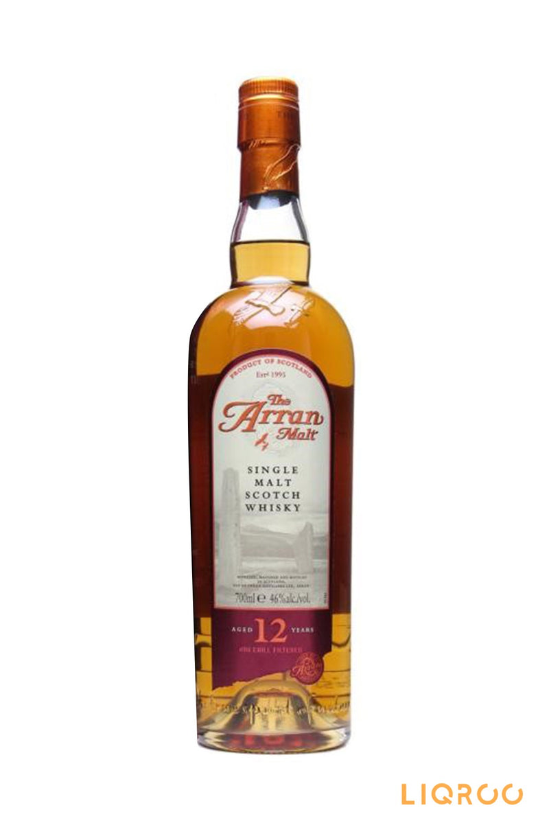 Arran 12 Years Old Single Malt Scotch Whisky