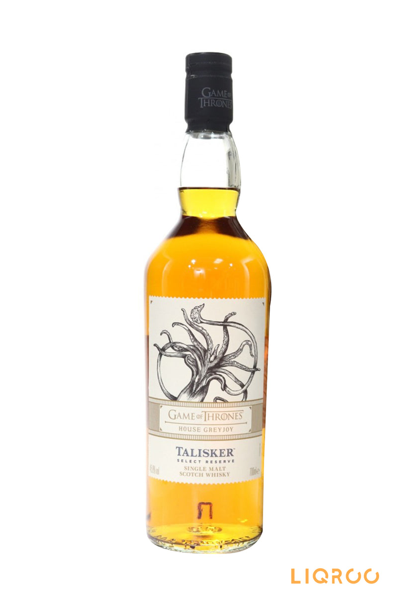 Talisker Select Reserve Game Of Thrones House Greyjoy Island