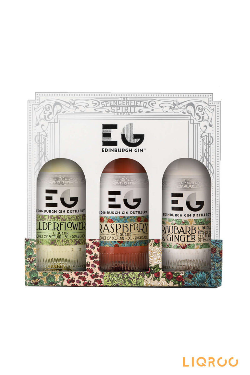 Edinburgh 3 Pack Gift Set Selection Gin
