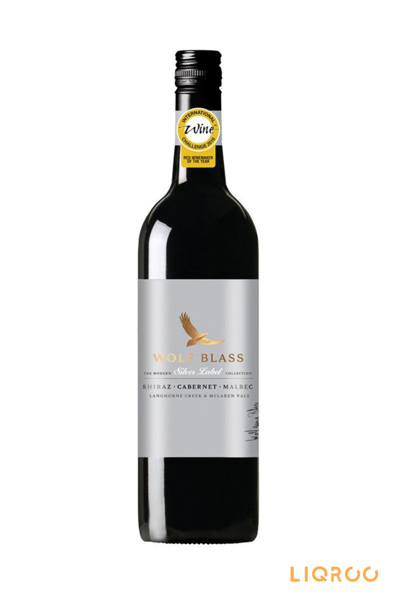 Wolf Blass Silver Label Shiraz Cabernet Malbec Red Wine