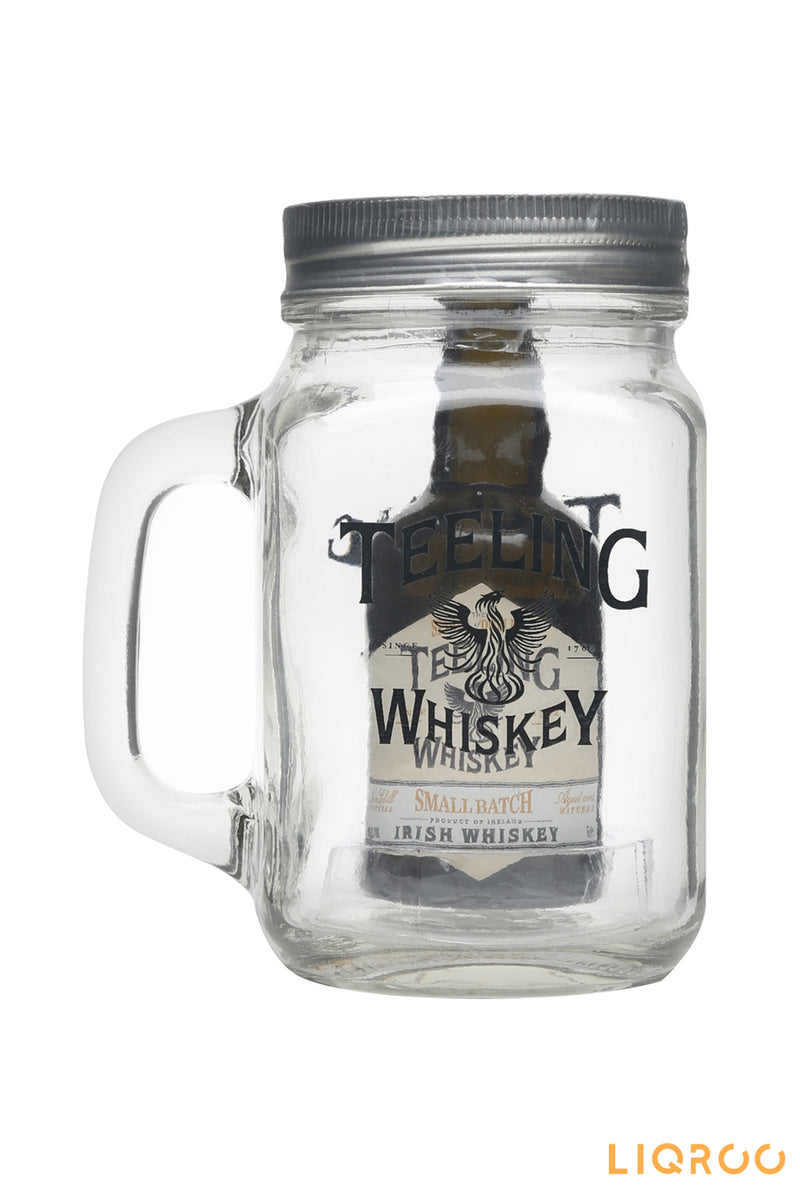 Teeling Small Batch Whiskey Miniature In Jar Blended Malt Scotch Whisky