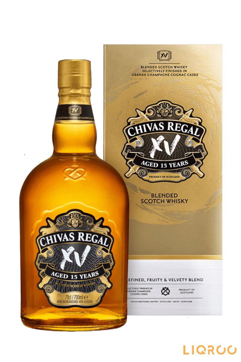 Chivas Regal 15 Year Old Blended Malt Whisky