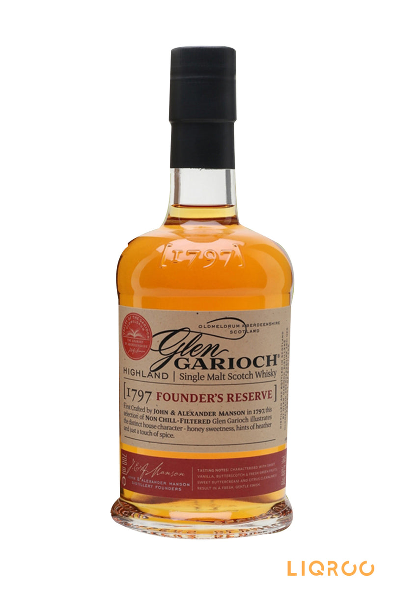 Glen Garioch 1797 Founder's Reserve Single Malt Scotch Whisky