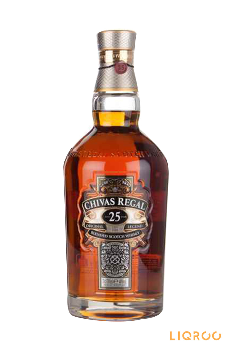 Chivas Regal 25 Year Old Blended Scotch Whisky