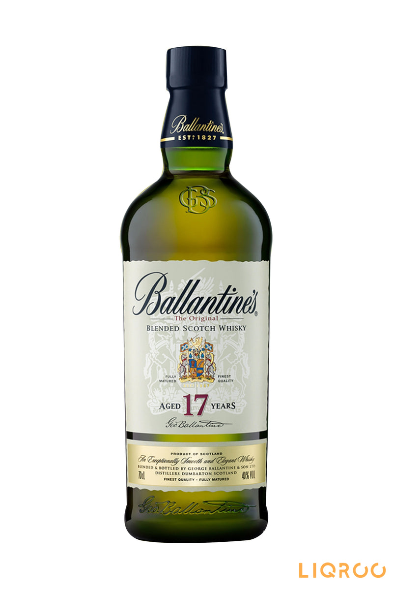 Ballantines 17 Year Old Blended Malt Scotch Whisky