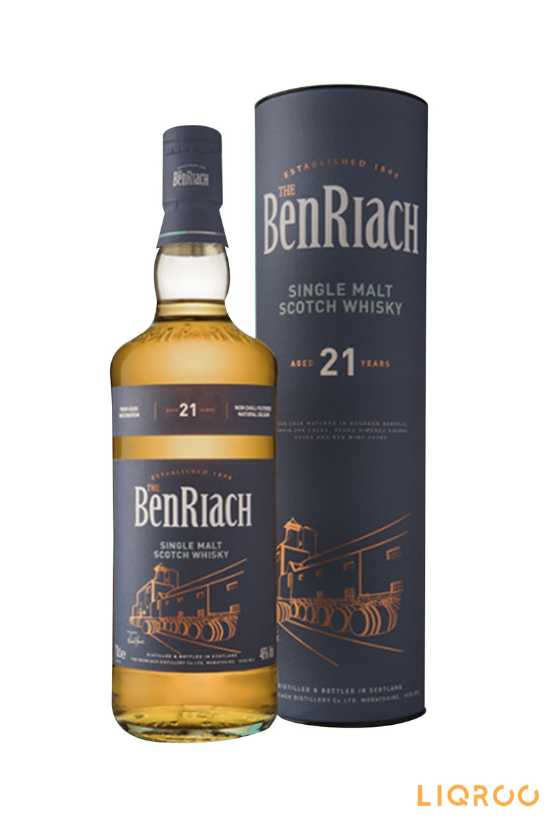 Benriach 21 Year Old Classic Single Malt Scotch Whisky