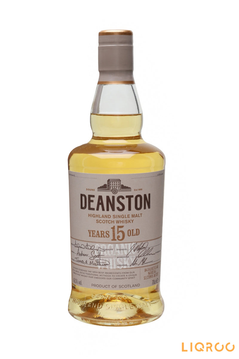 Deanston 15 year old Organic Scotch Whisky
