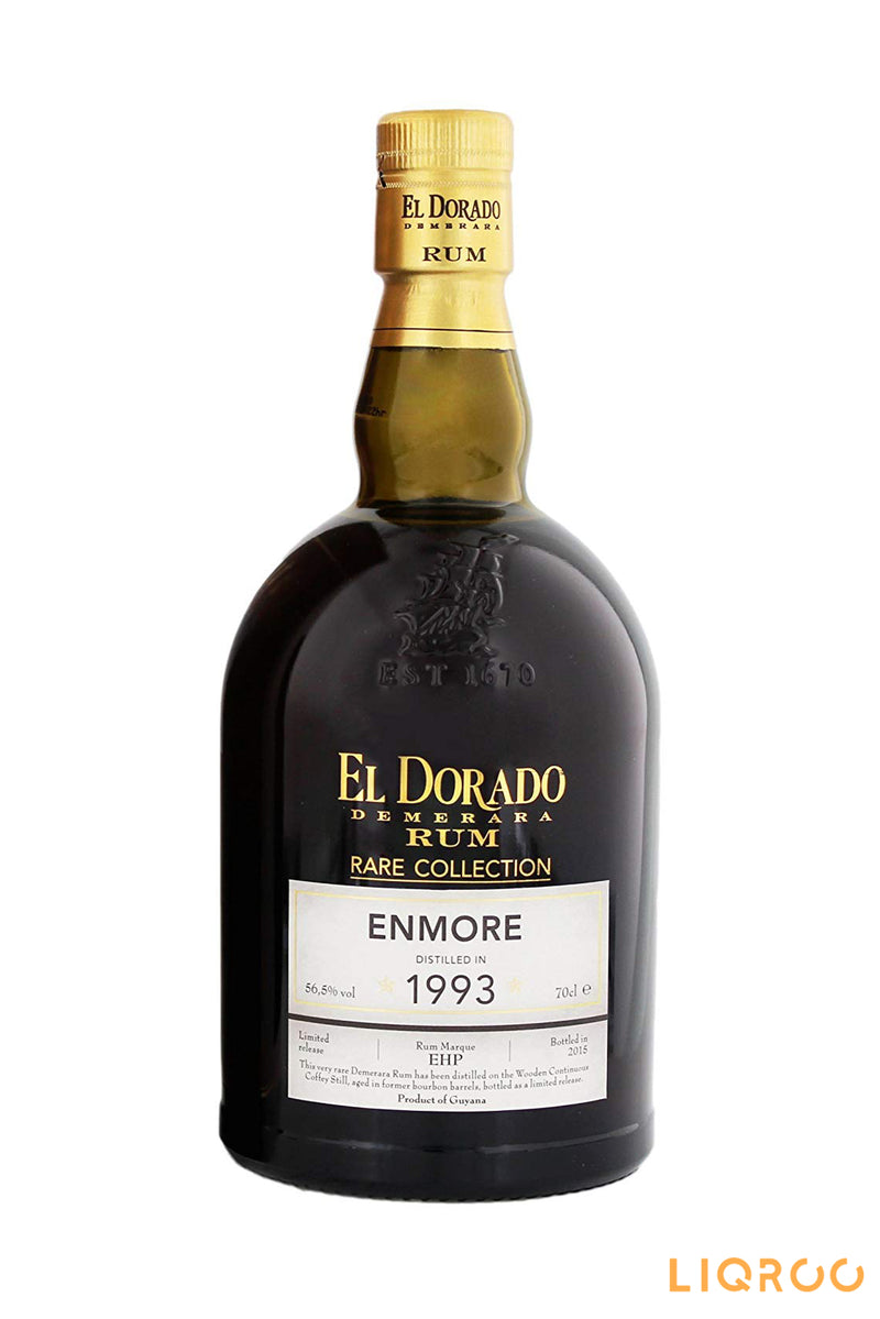 El Dorado Enmore 1993 21 Year Old Rare Collection Rum