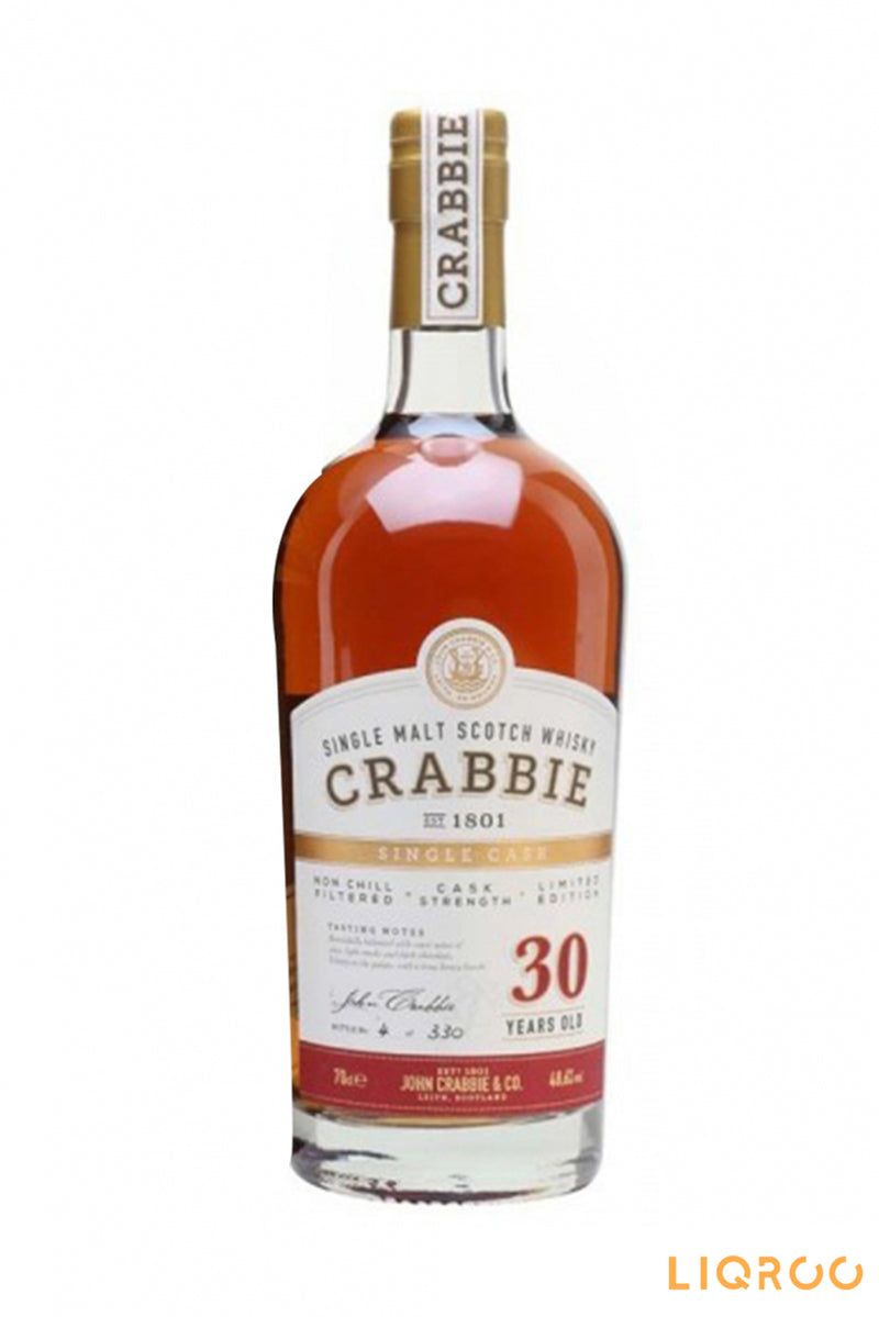 Crabbie 30 Year Old Single Malt Scotch Whisky