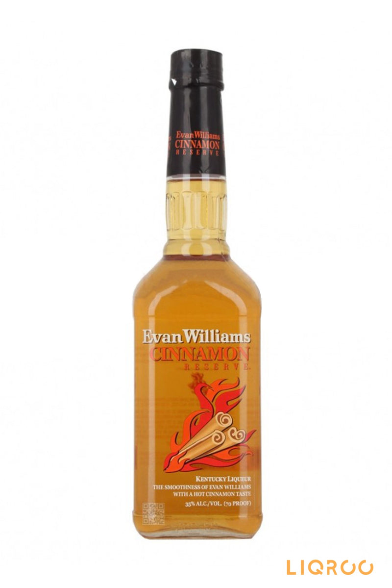 Evan Williams Cinnamon Reserve Liqueurs