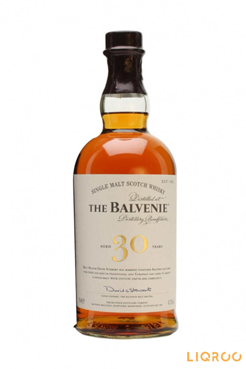 Balvenie 30 YearsOld Single Malt Scotch Whisky