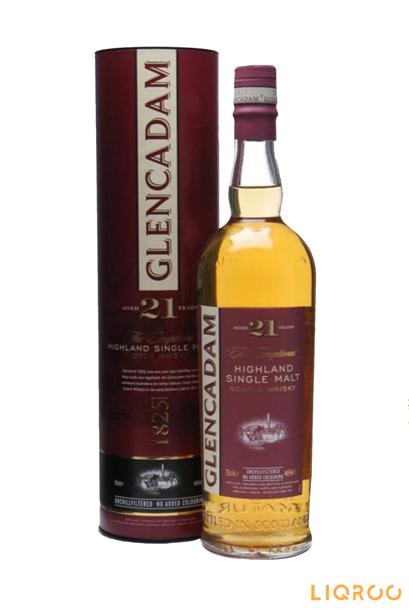 Glencadam 21 Years Old Single Malt Scotch Whisky