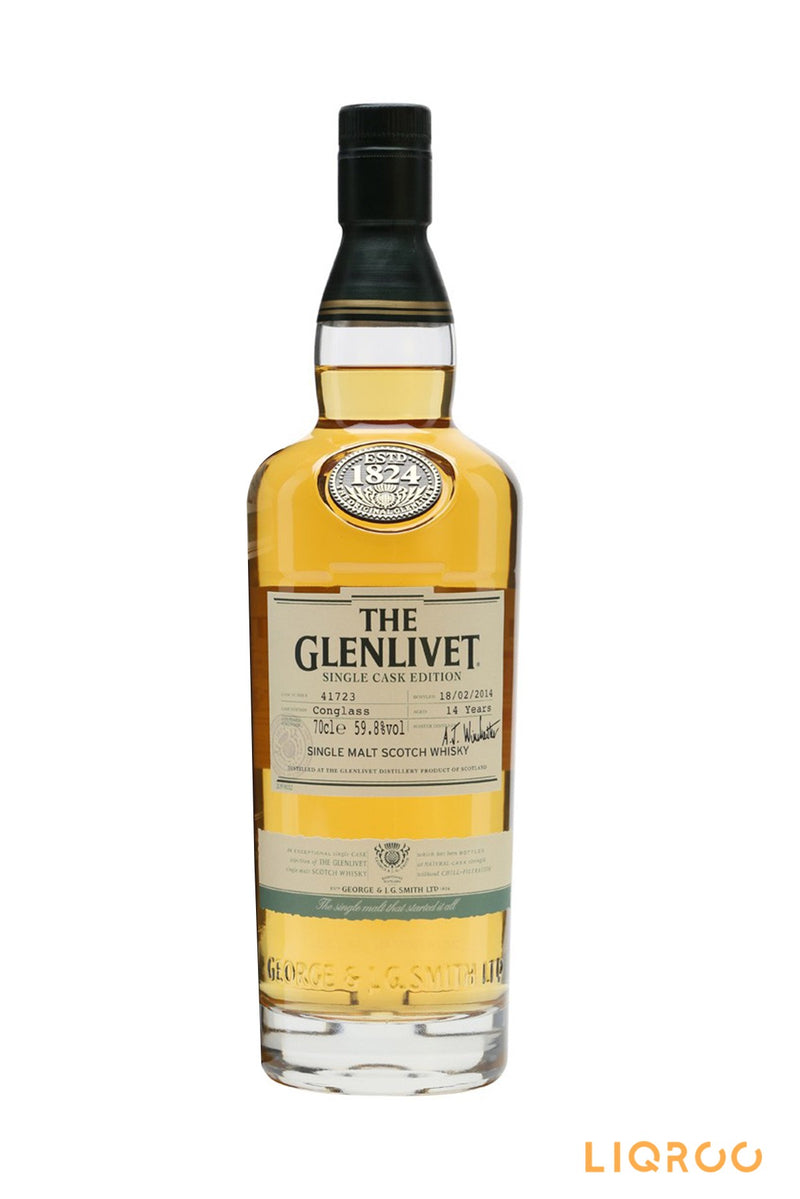 The Glenlivet 14 Years Old Conglass Single Malt Scotch Whisky
