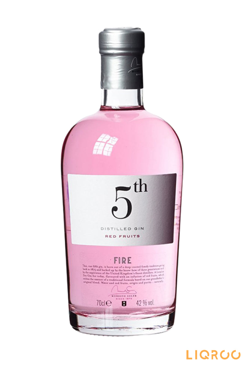 5Th Fire Red Fruits Gin