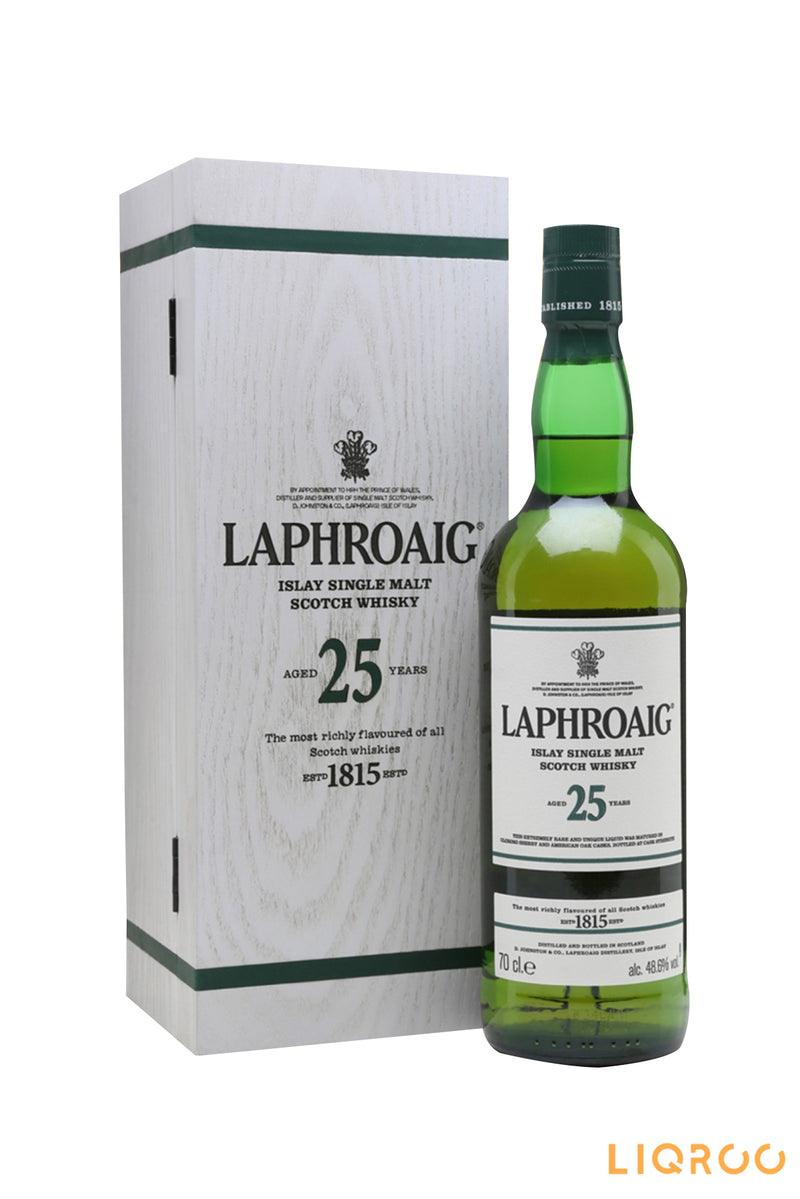 Laphroaig 25 Year Old Cask Strength Single Malt Scotch Whisky