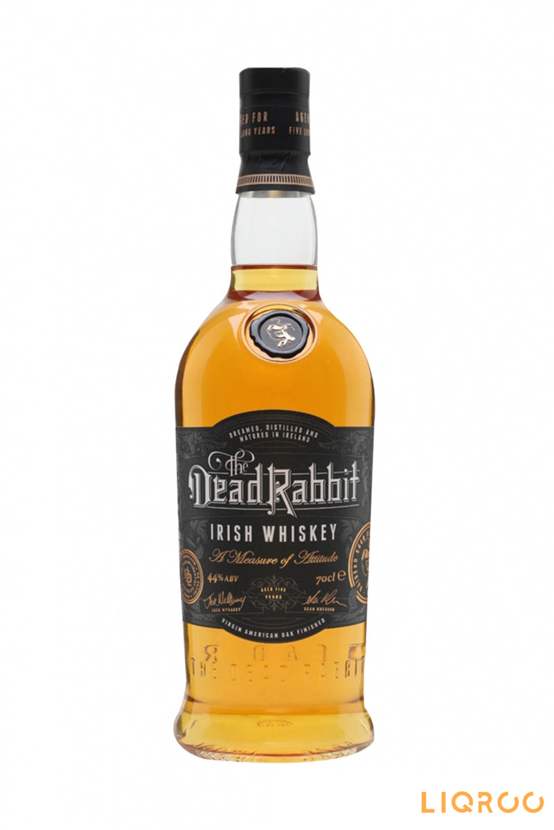 The Dead Rabbit Irish Whiskey 5 Year Old Blended Malt Scotch Whisky