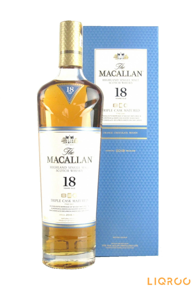 The Macallan 18 Year Old Triple Cask Matured Single Malt Scotch Whisky