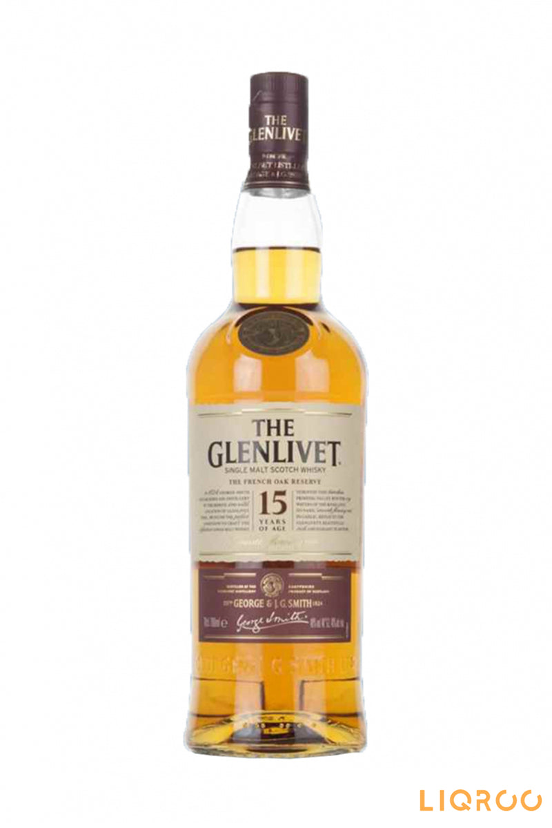 The Glenlivet 15 Years Old French Oak Reserve Single Malt Scotch Whisky
