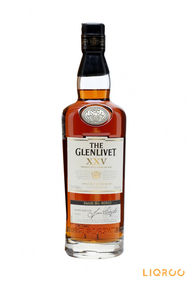 The Glenlivet XXV Single Malt Scotch Whisky