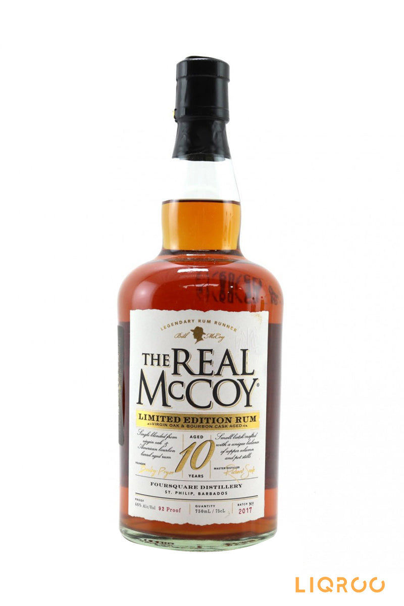 Foursquare The Real Mccoy 10 Year Old Limited Edition Rum
