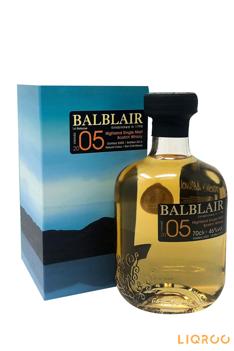 Balblair 2005 Bot.2018 Single Malt Scotch Whisky