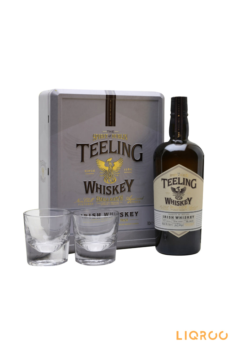 Teeling Small Batch Whiskey 2 Glasses Gift Pack Blended Malt Whisky