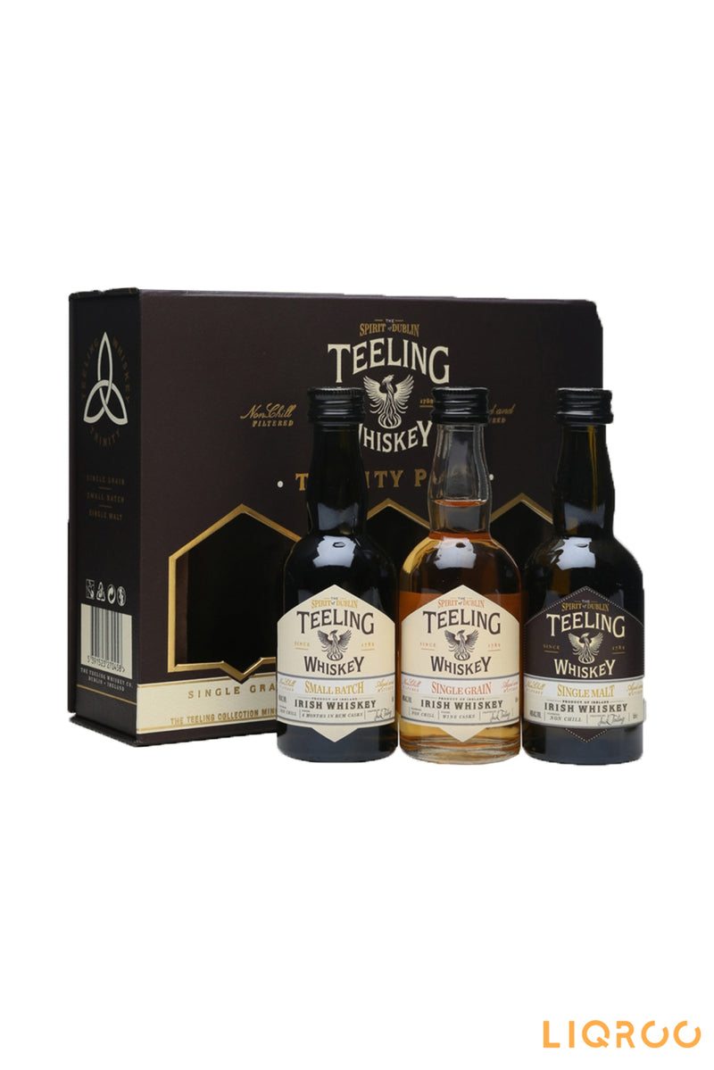 Teeling Whiskey Trinity Miniature Pack Blended Malt Scotch Whisky