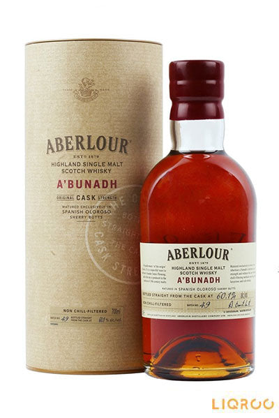 Aberlour A'Bunadh Batch 49 Single Malt Scotch Whisky