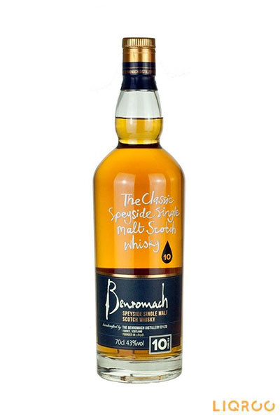 Benromach 10 Years Old Speyside Single Malt Scotch Whisky