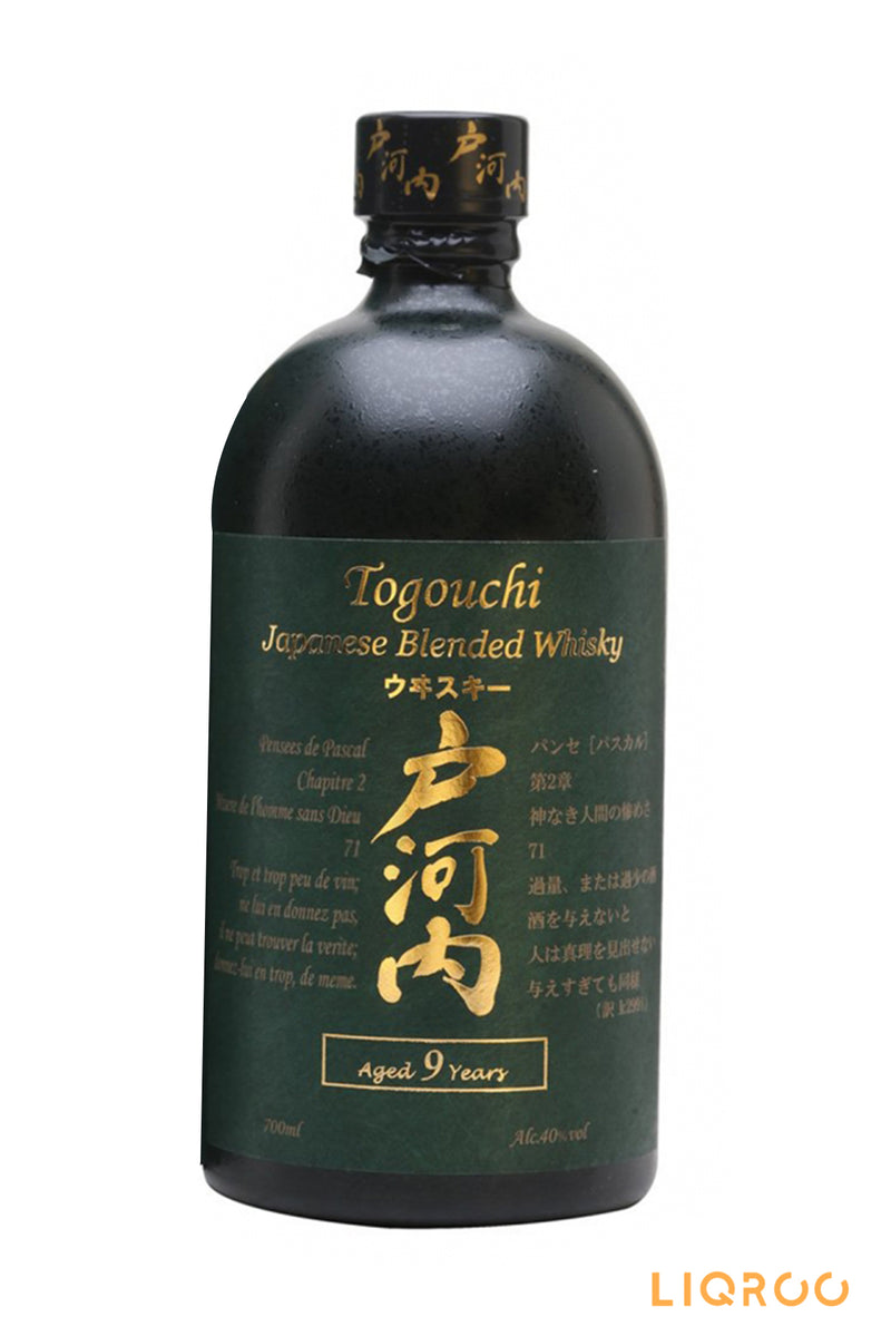 Togouchi 9 Year Old Japanese Whisky