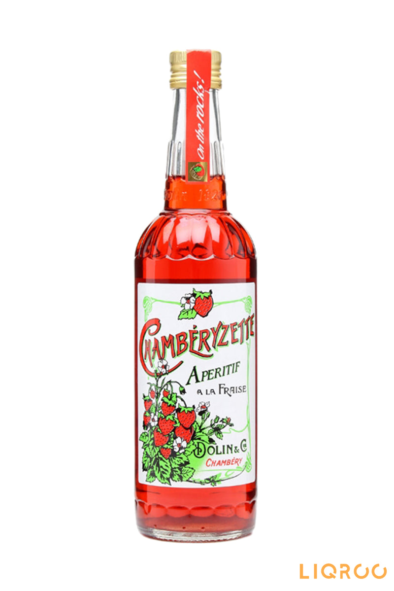 Chamberyzette Dolin Strawberry Aperitif Liqueurs