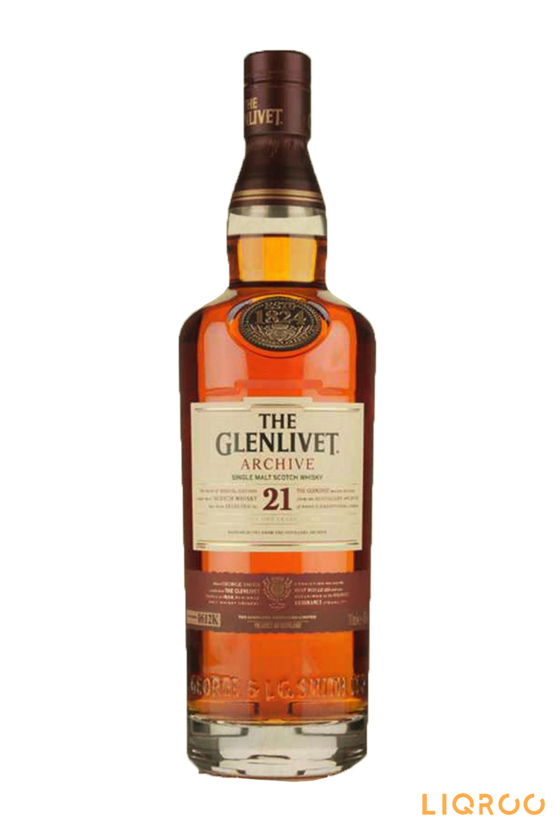 The Glenlivet Archive 21 Years Single Malt Scotch Whisky