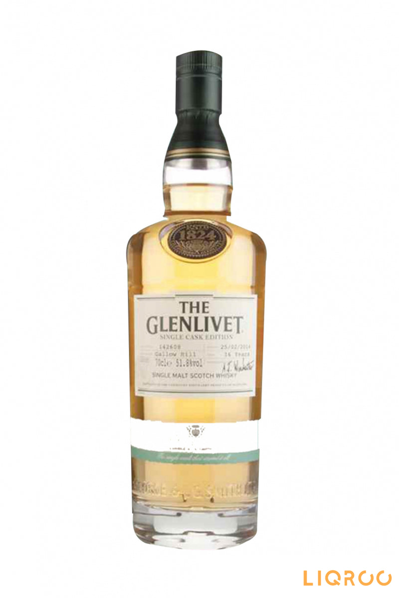 The Glenlivet 16 YearsOld Gallow Single Malt Scotch Whisky