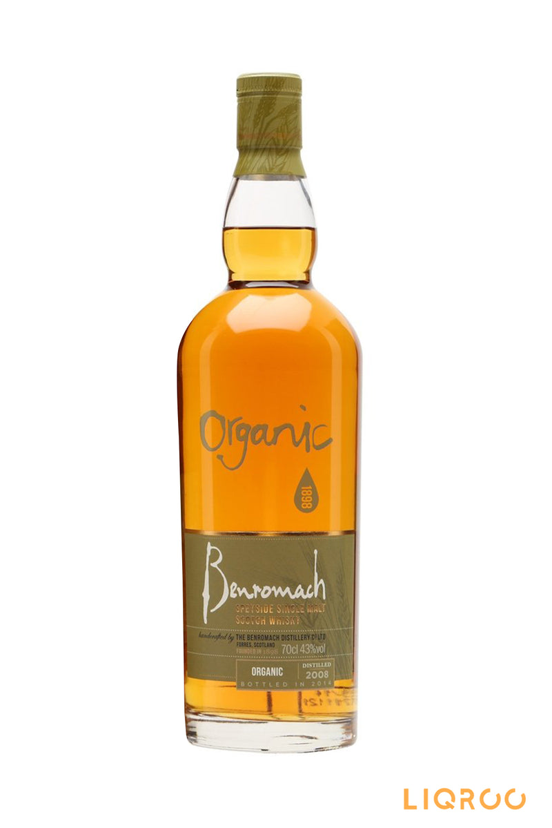 Benromach Contrasts Organic Speyside