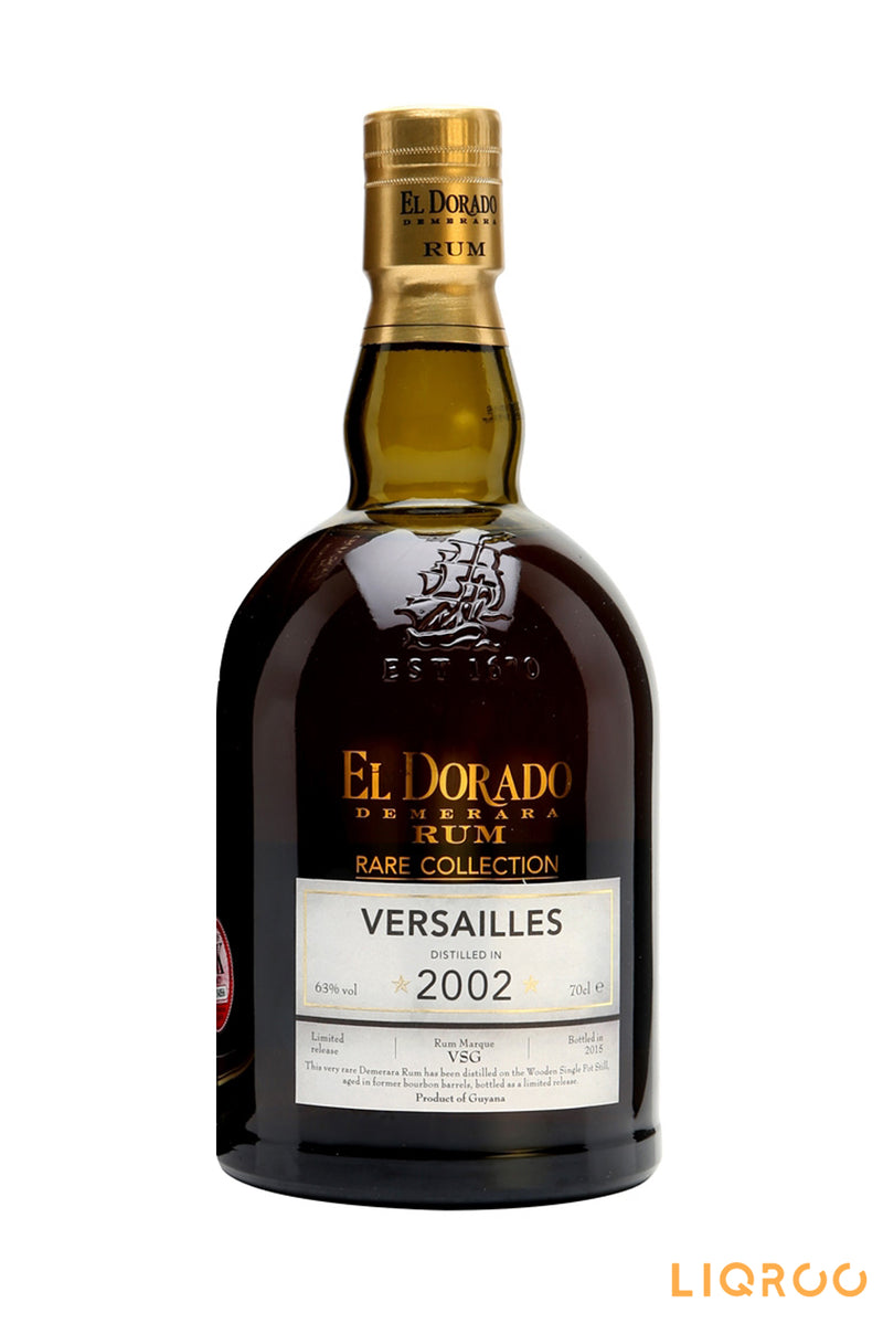 El Dorado Versailles 2002 12 Year Old Rare Collection Rum