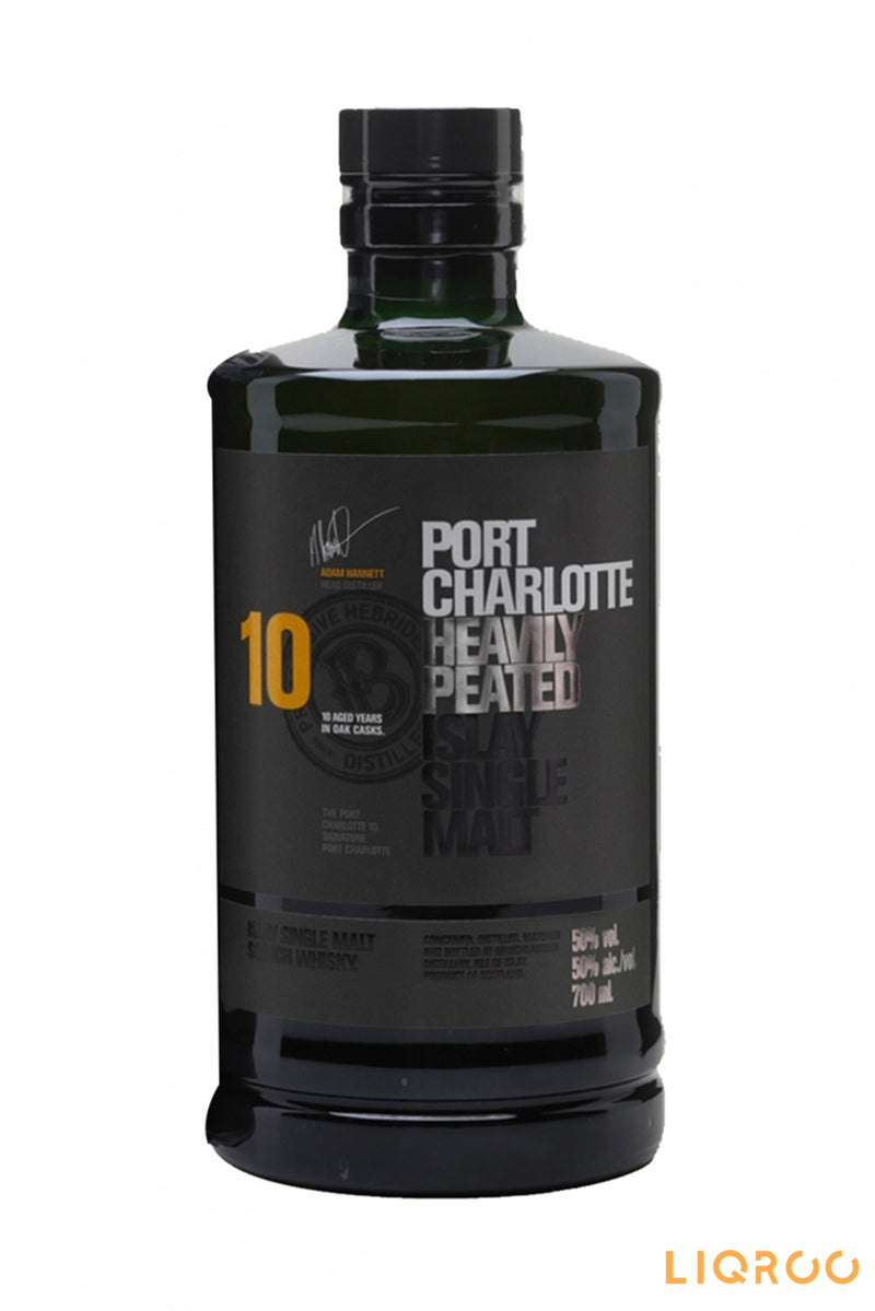 Bruichladdich Port Charlotte 10 Year Old Single Malt Scotch Whisky
