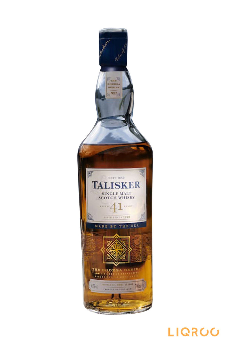 Talisker 41 Year Old Single Malt Scotch Whisky