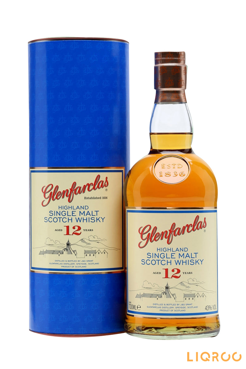 Glenfarclas 12 Years Old Single Malt Scotch Whisky