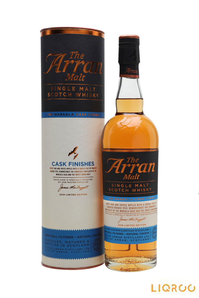 Arran Marsala Cask Finish Single Malt Scotch Whisky