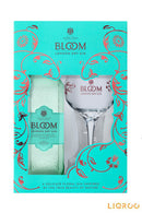 Bloom London Dry Gin With Glass