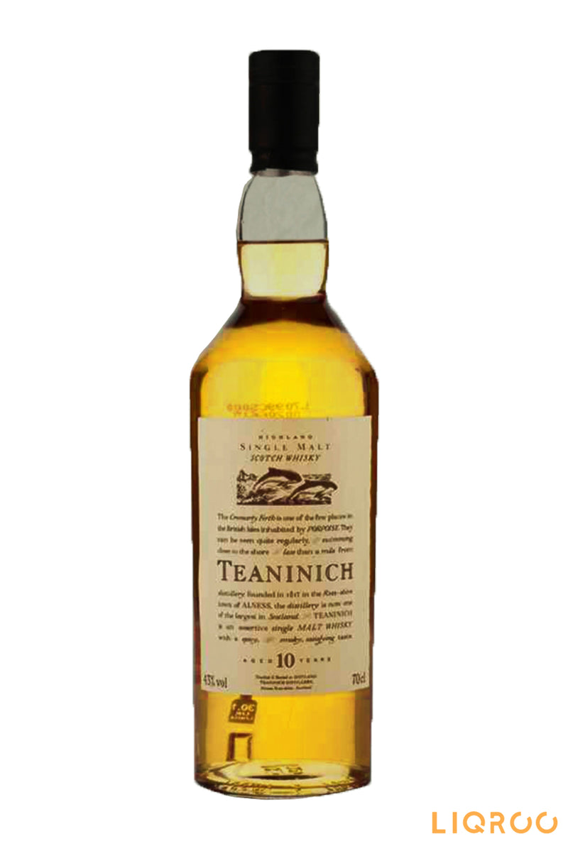 Teaninich 10 Years Old Single Malt Scotch Whisky