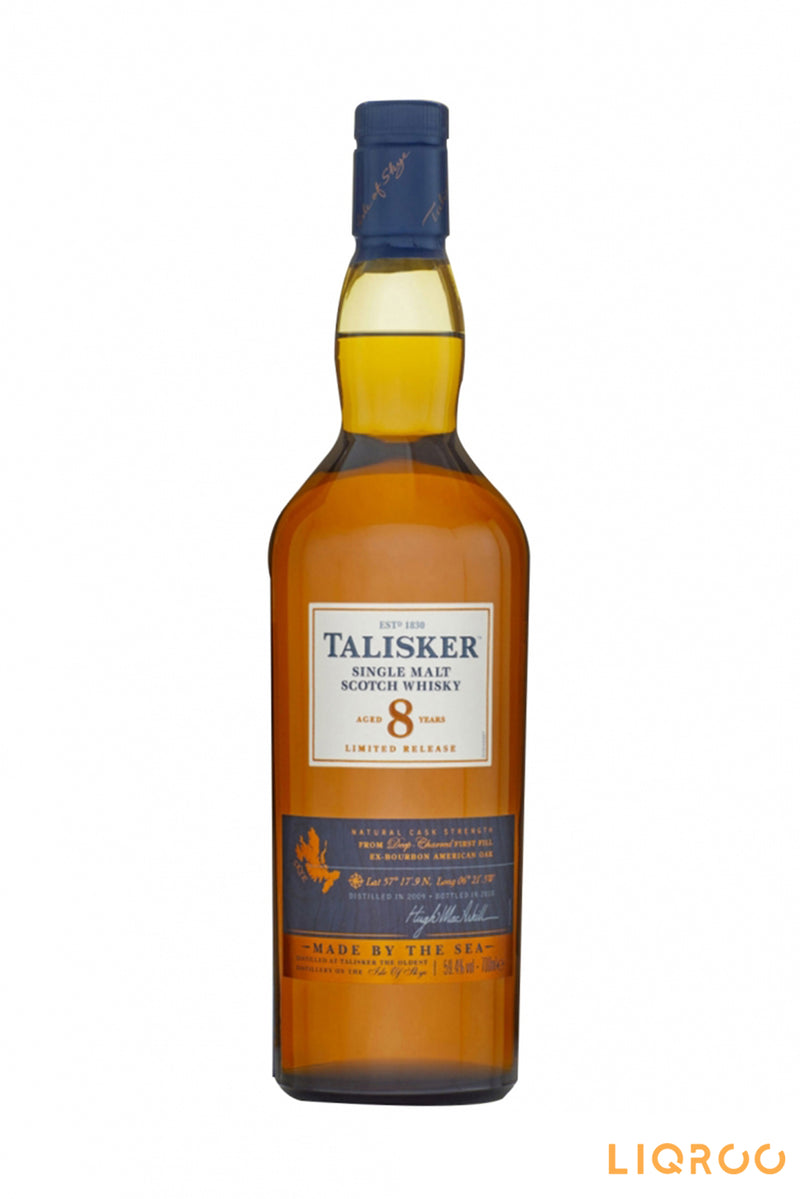 Talisker 8 Years Old Single Malt Scotch Whisky