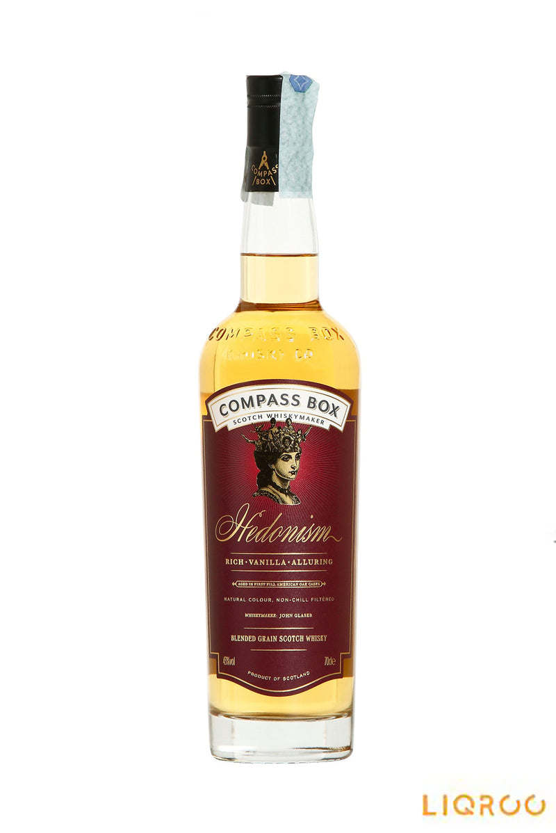 Compass Box Hedonism Grain Scotch Whisky