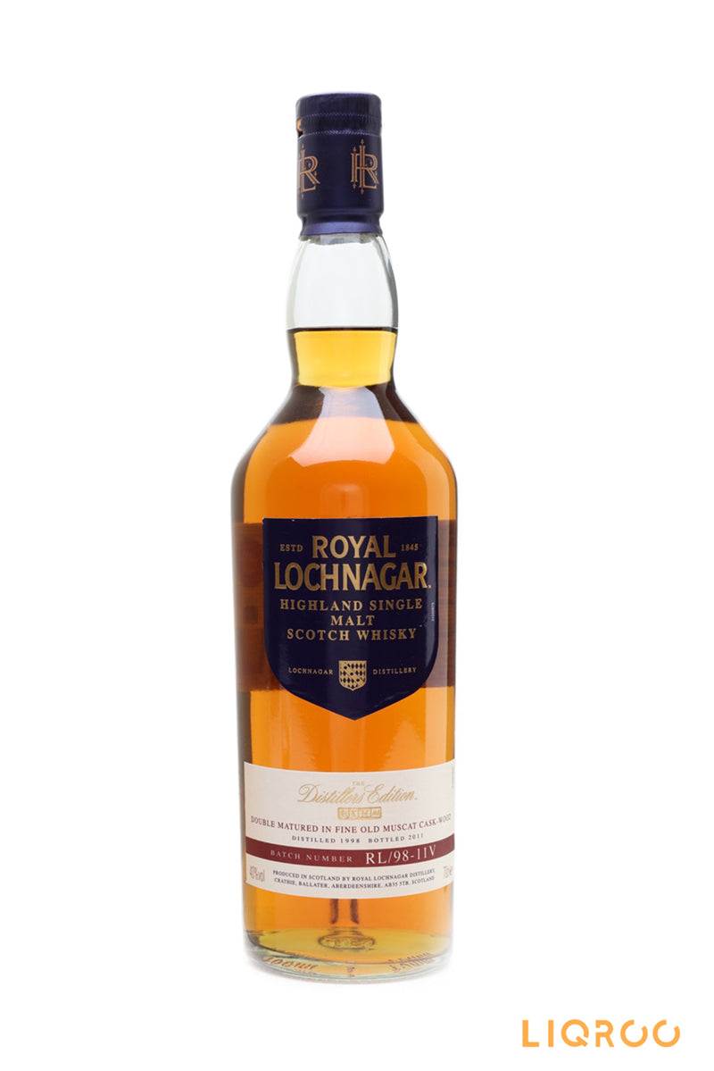 Royal Lochnagar 1998 Distillers Edition Highland
