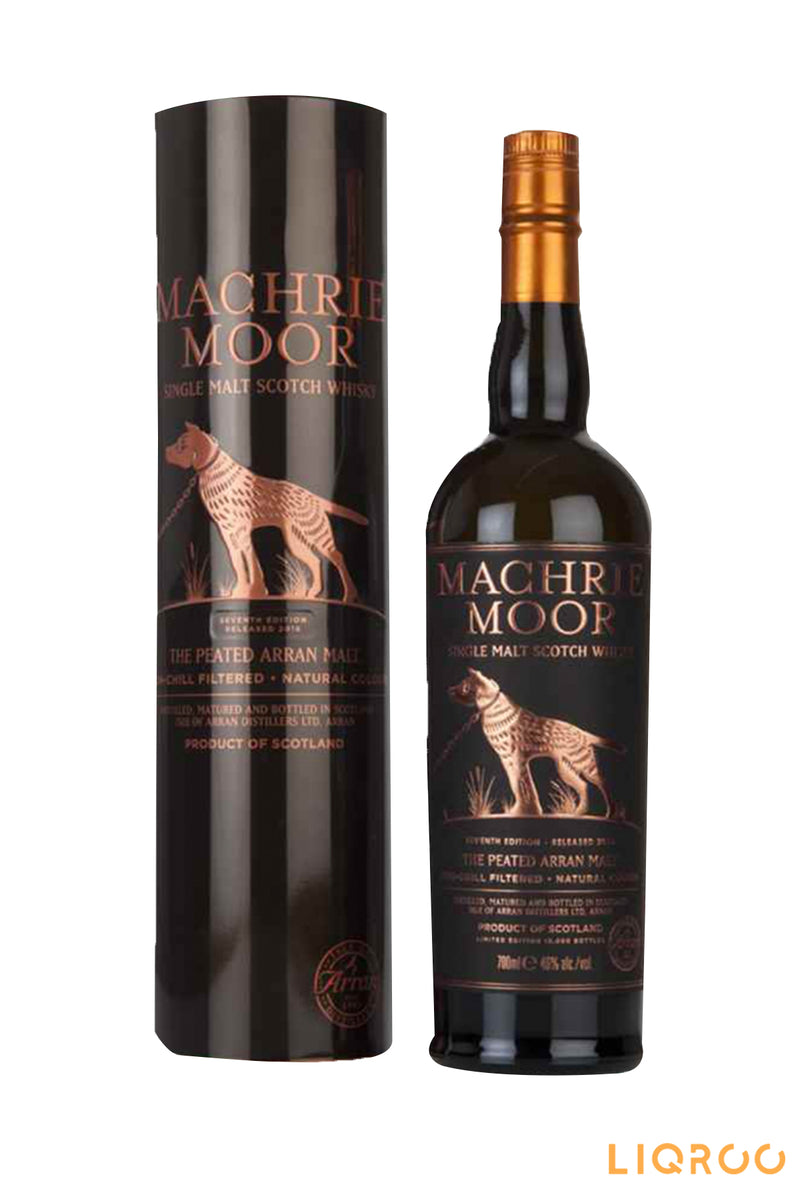 Arran Machrie Moor Peated - Batch 7 Single Malt Scotch Whisky