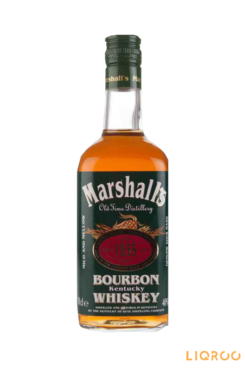 Marshall's Bourbon Blended Malt Whisky